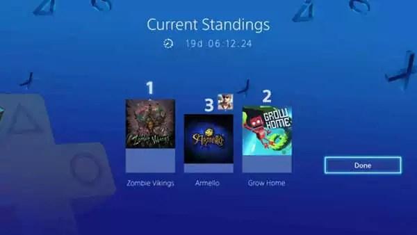 Vota e gioca PlayStation Plus