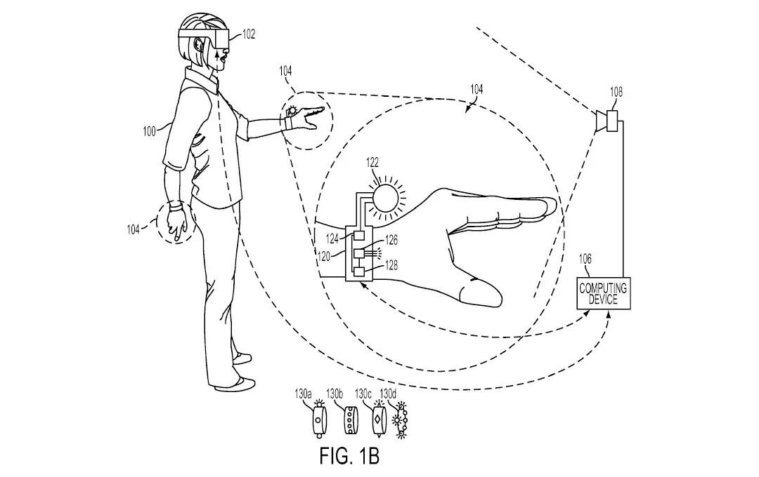Sony brevetta un guanto per la realtà virtuale