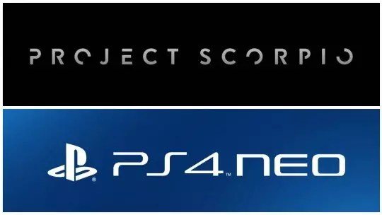 PlayStation 4 Neo Xbox One Scorpio
