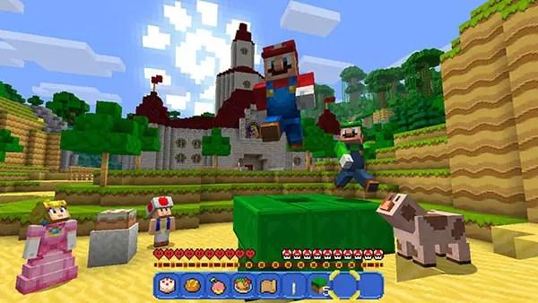 Minecraft: Nintendo Switch Edition girerà a 60fps e avrà mondi più vasti