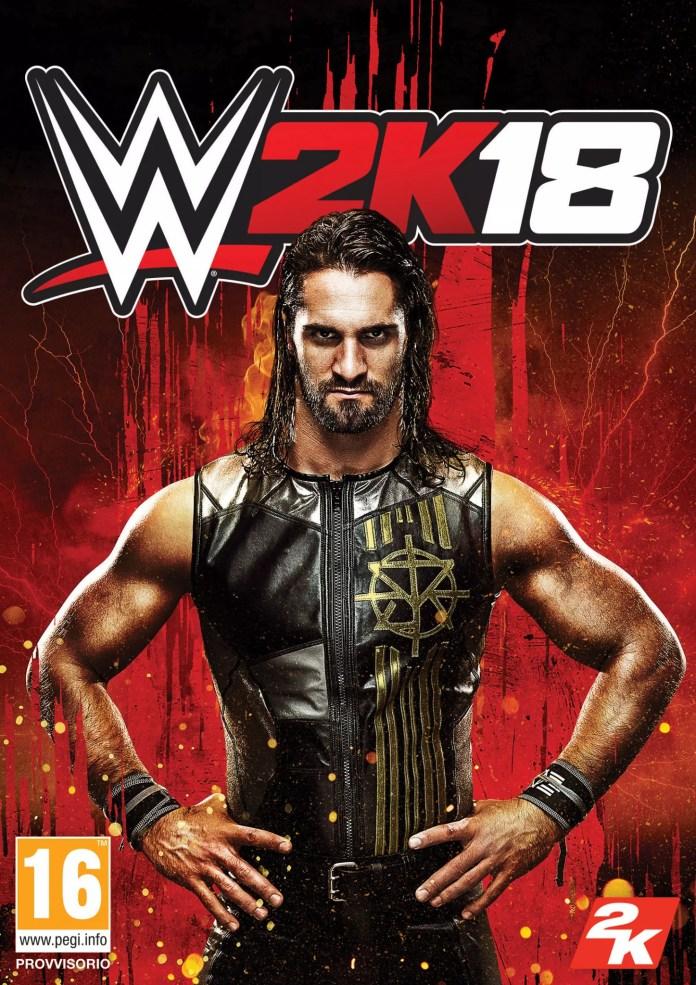 WWE 2k18 Seth Rogen