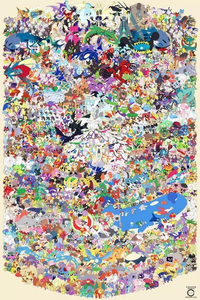 807 pokémon by christopher cayco