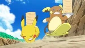 """Pikachu e Raichu di Alola in """"Corsa al grande evento!"""""""