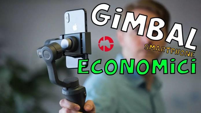 Gimbal Smartphone Economici