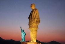 Questa è la statua più alta del mondo, quasi tre volte l'altezza della Statua della Libertà