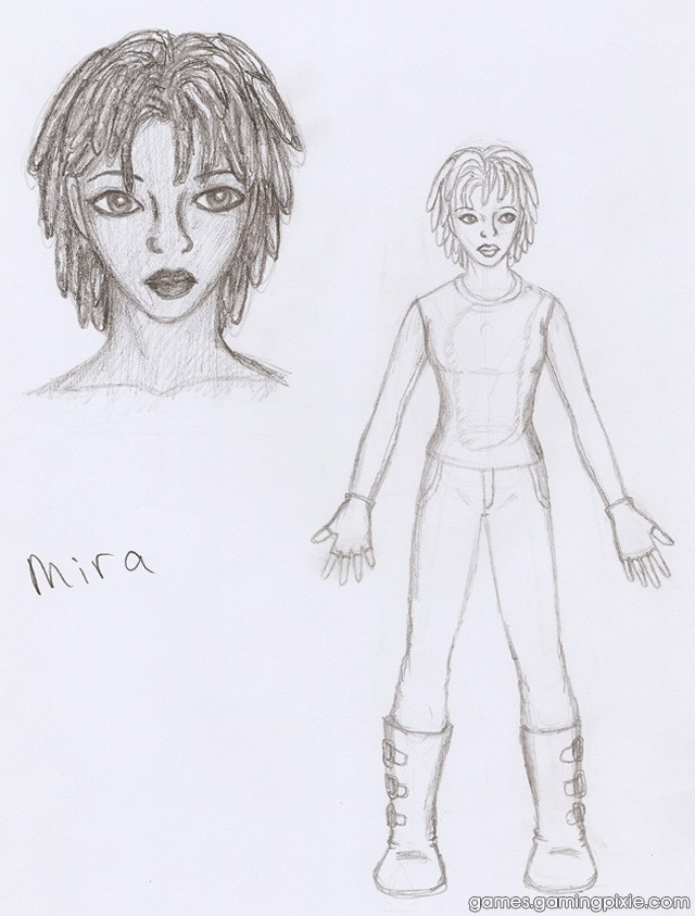 Mira Concept Sketch #1