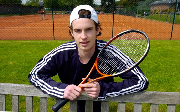 Image result for Andy Murray Junior