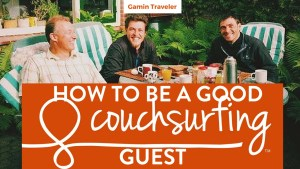 Being a good couchsurfing guest