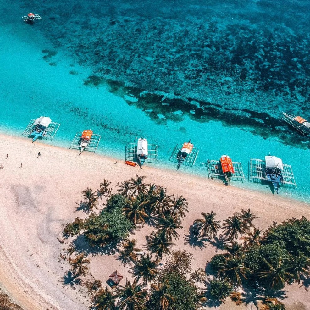 best beaches in the Philippines, Kalanggaman Island