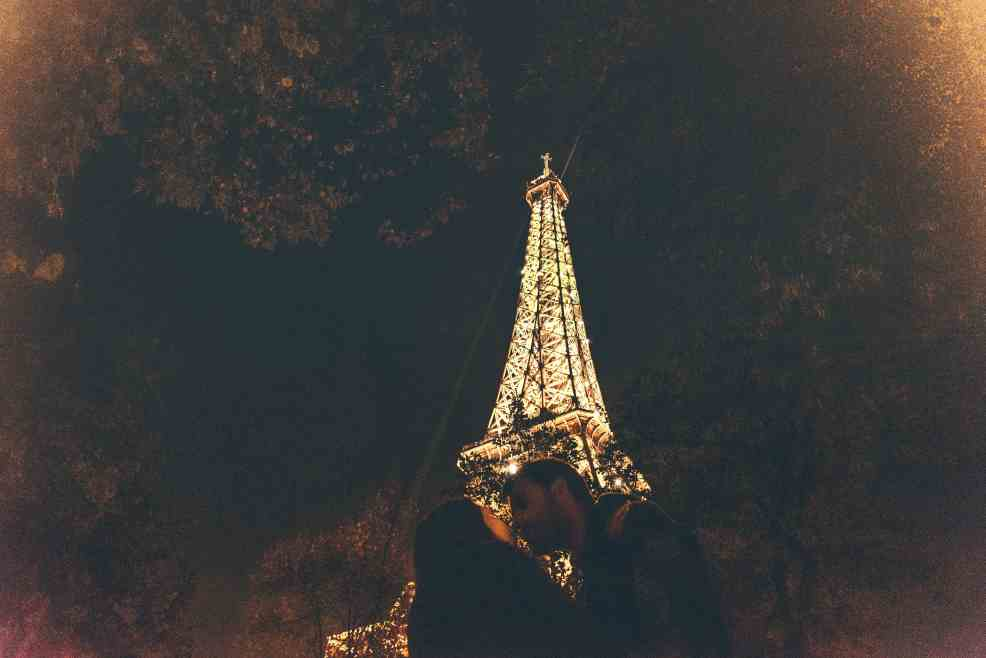 most instagrammable places in Paris, Eiffel Tower at night