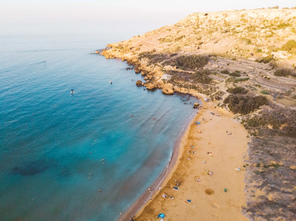 Things to do in Gozo, Places to visit in Gozo, Beaches in Gozo, Ramla beach