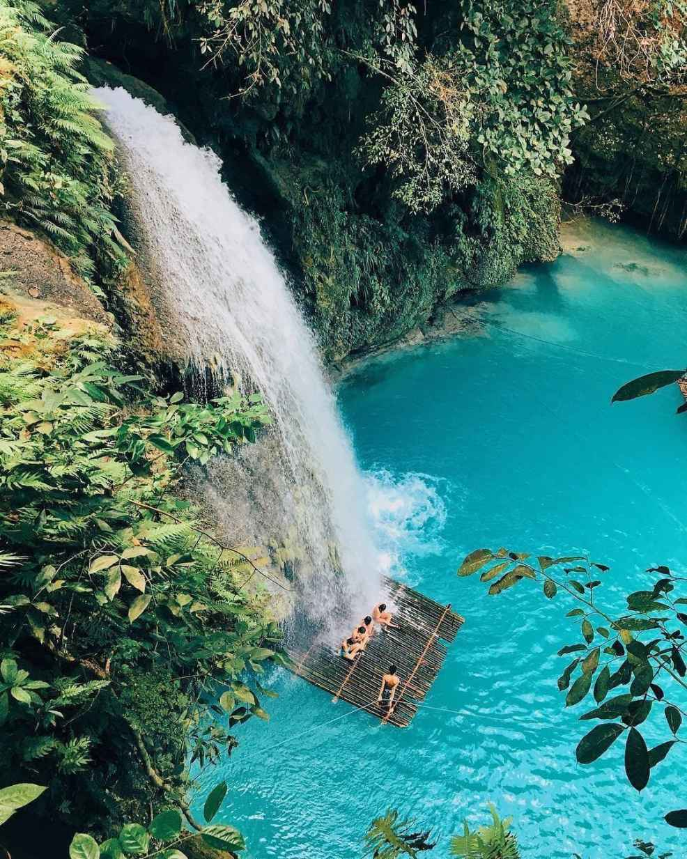 How To Get to Moalboal, Kawasan Falls