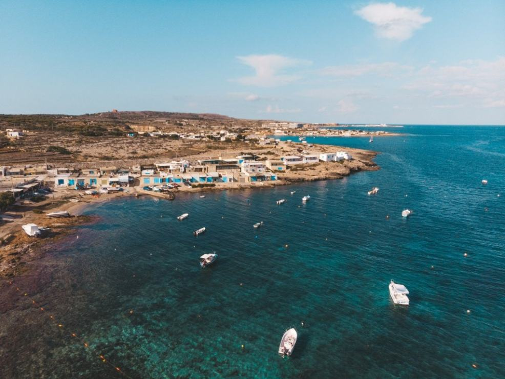 Instagrammable places in Malta, Armier Bay