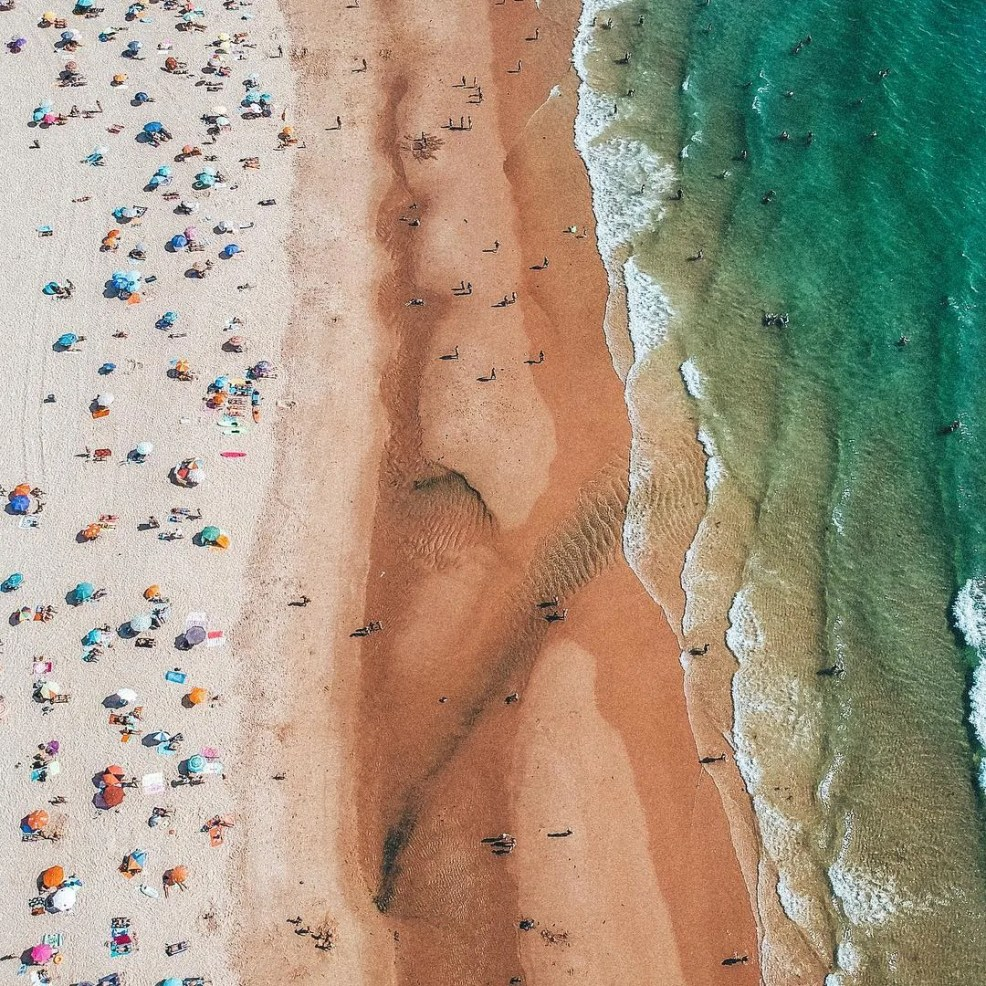 Costa Caparica beaches, instagrammable places in Lisbon