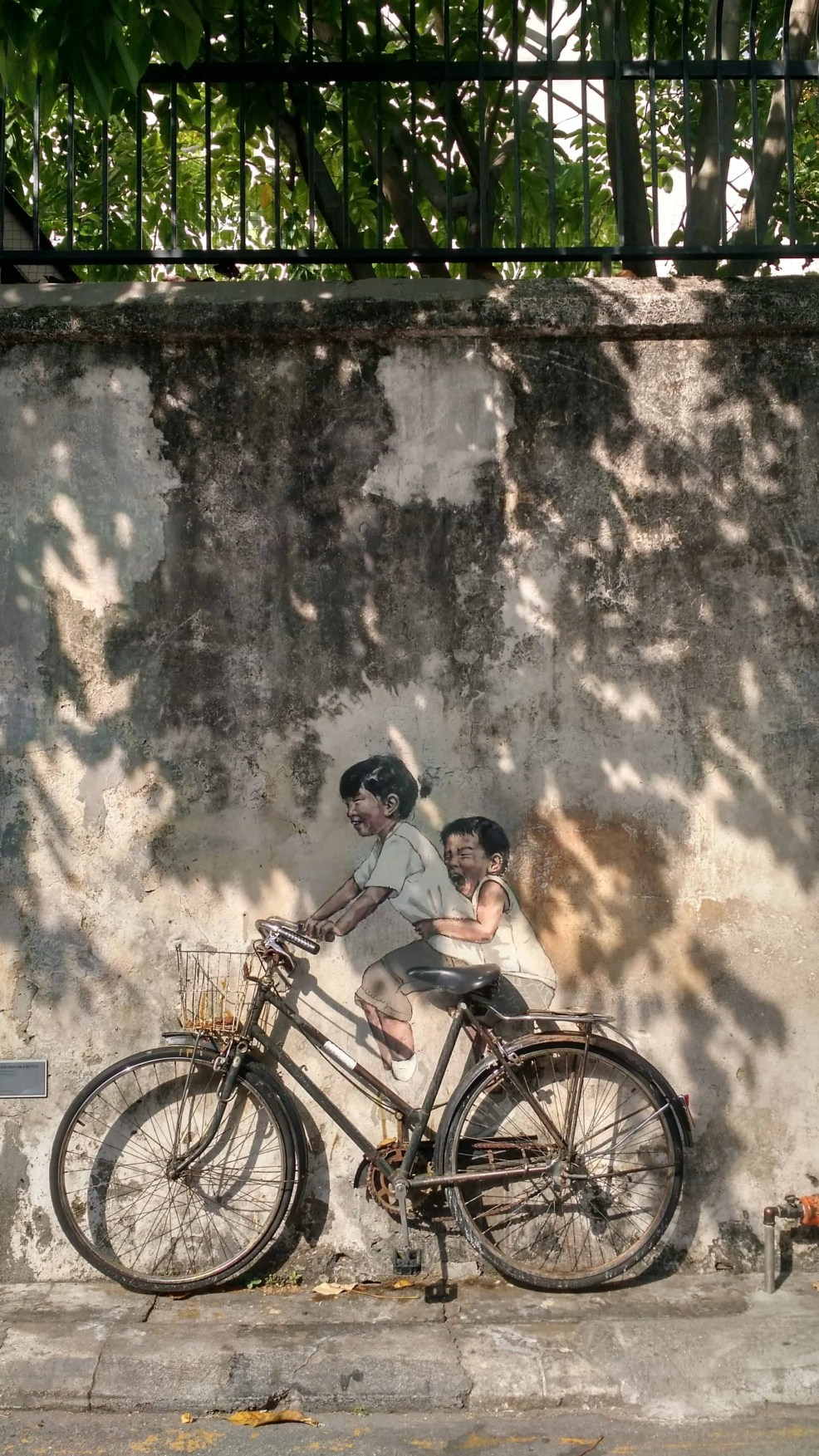 Instagrammable places in Malaysia, Penang, street art in Penang