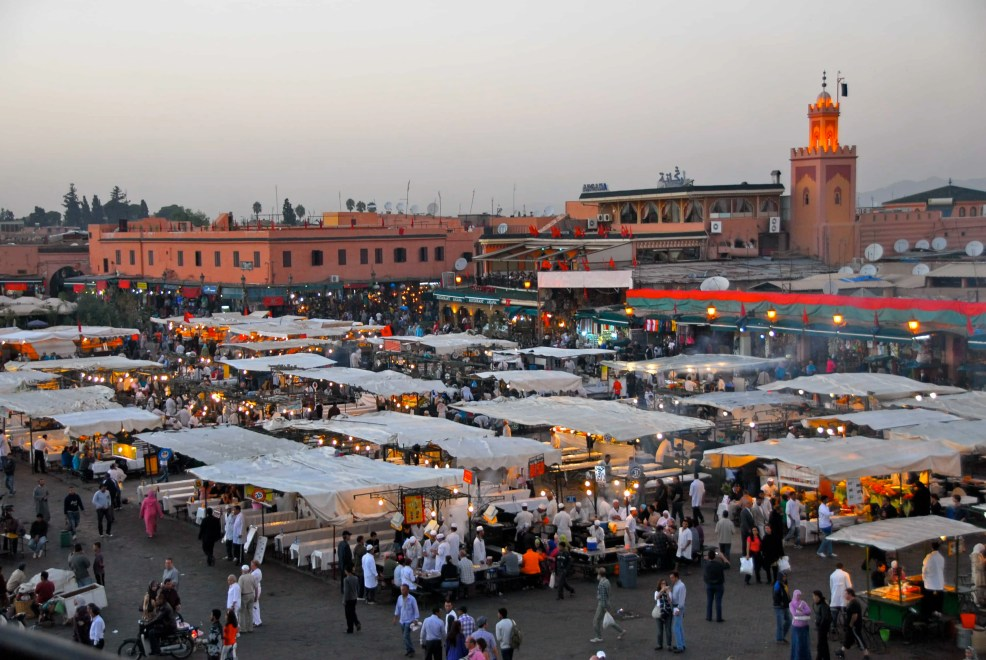 things to do in Marrakech, Jemaa El-Fnaa