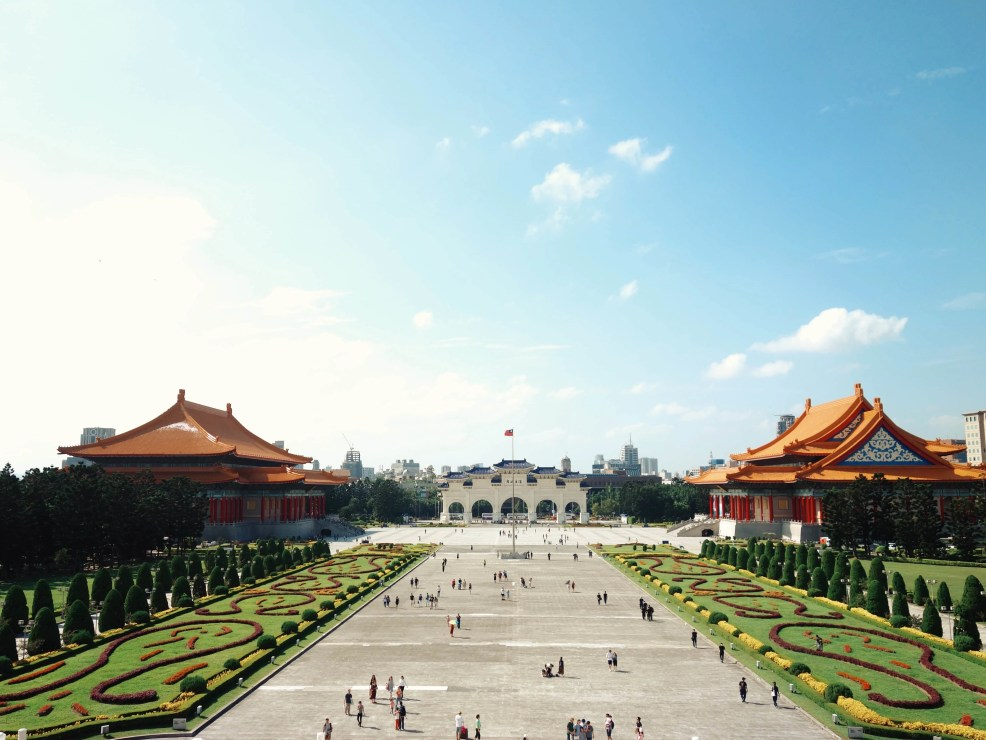 instagrammable places in Taiwan, Chiang Kai-Shek Memorial Hall