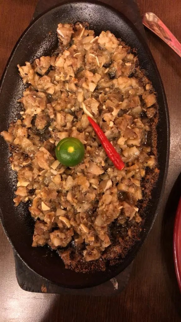 Sisig, Filipino food, filipino dishes