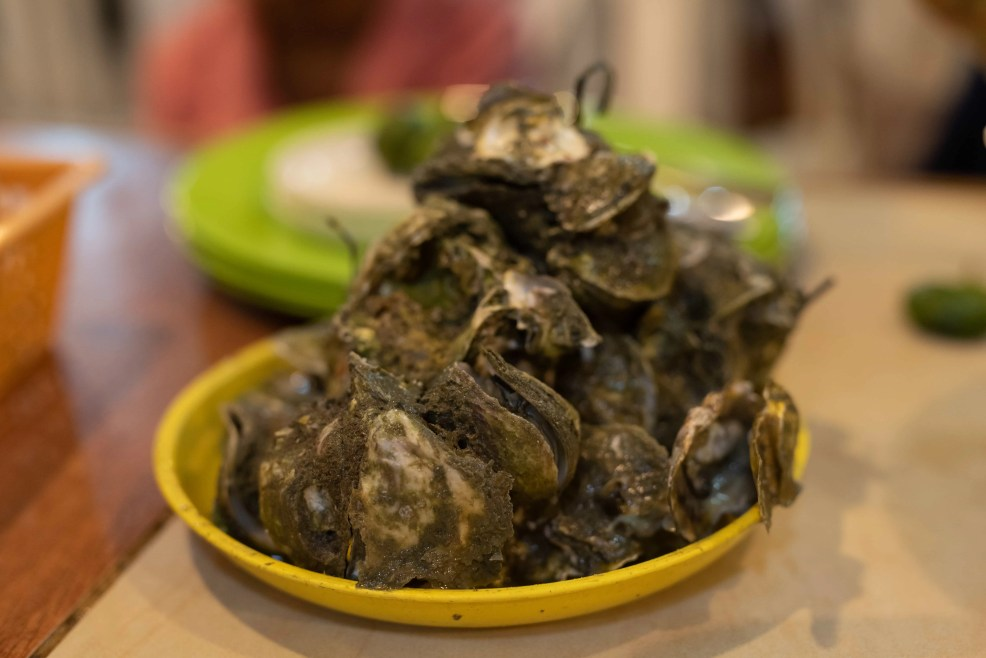 Filipino food, filipino dishes, oyster, things to do in bacolod, bacolod tourist spots, hotels in bacolod city, best time to visit Bacolod city, Oyster in Bacolod City