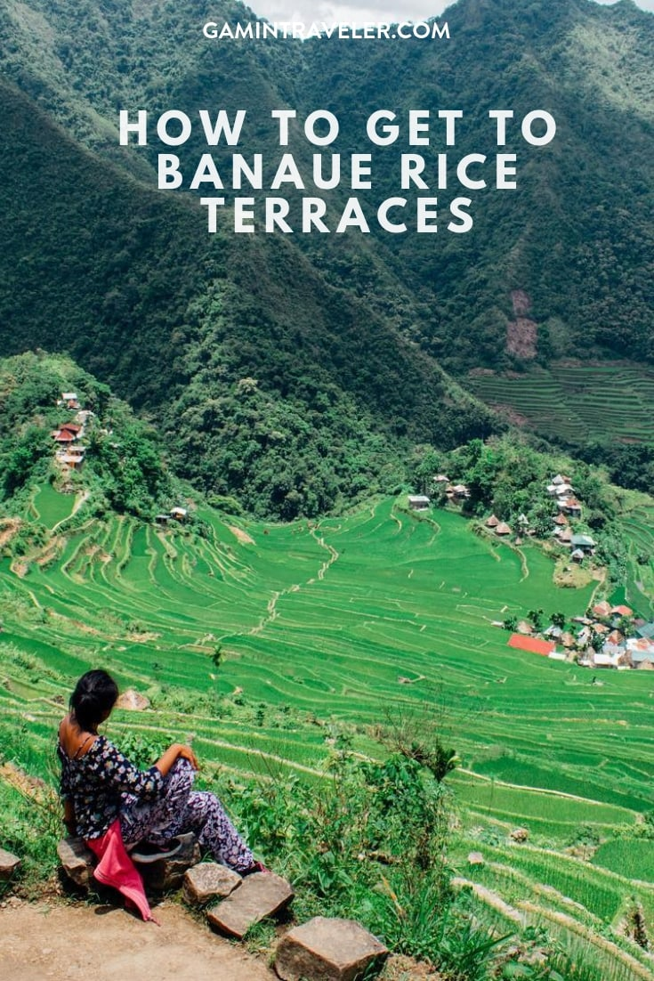 How To Get Rid Of Sewer Smell In Your House: How To Get To Banaue Rice Terraces