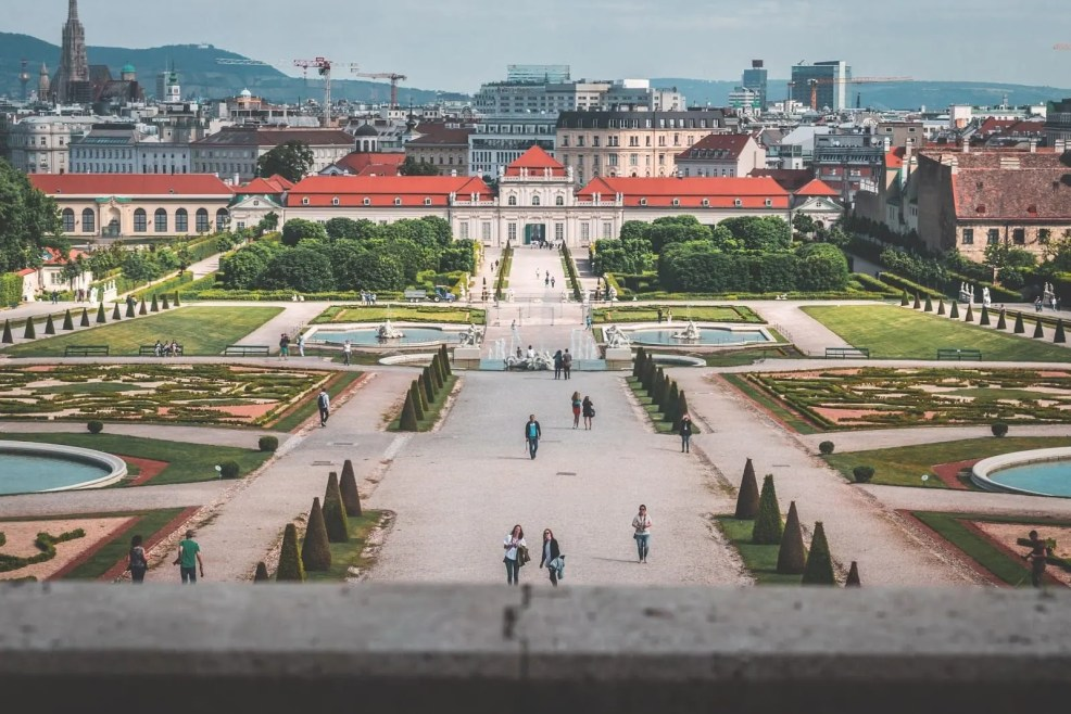 Vienna, places to visit in Europe this summer