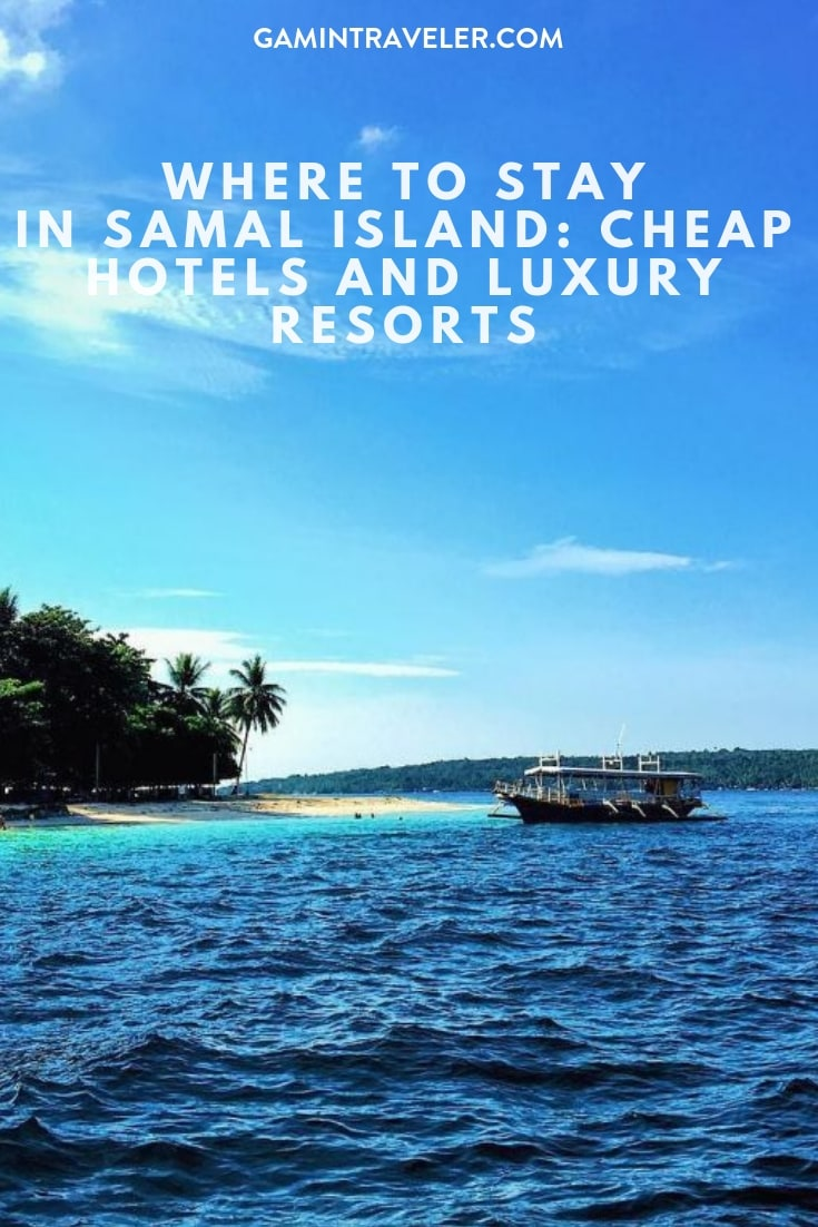 Where To Stay In Samal Island Davao Cheap Hotels And Luxury