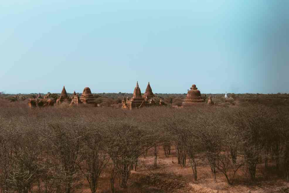 Bagan, how to get to Bagan from Yangon and Inle Lake
