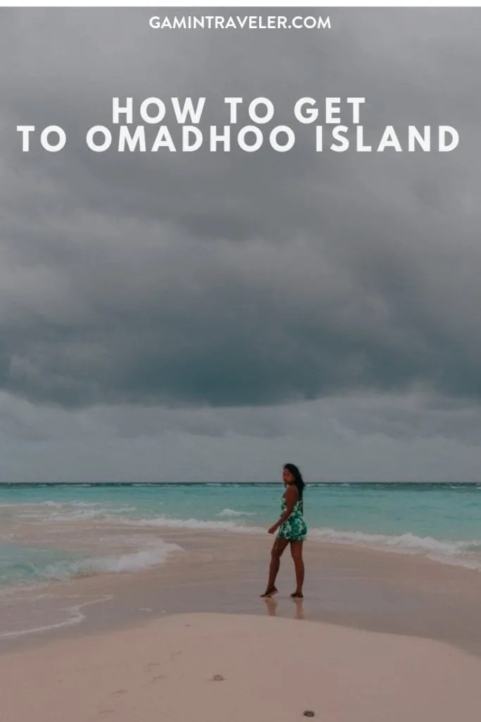 how to get to Omadhoo island