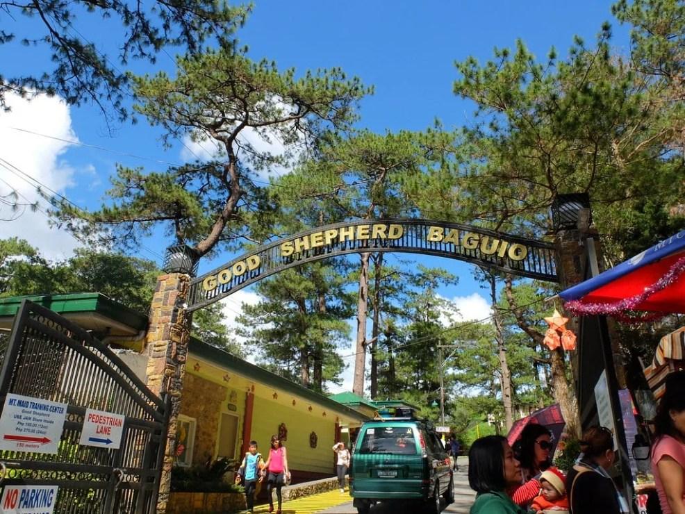 Good Shepherd Place, Baguio tourist spots, Baguio travel guide