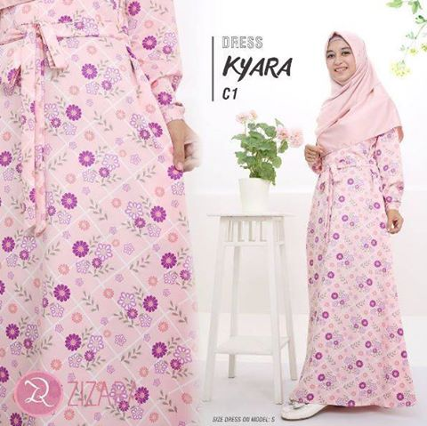 Gamis Zizara Kyara Dress seri C1