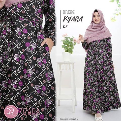 Gamis Zizara Kyara Dress seri C2