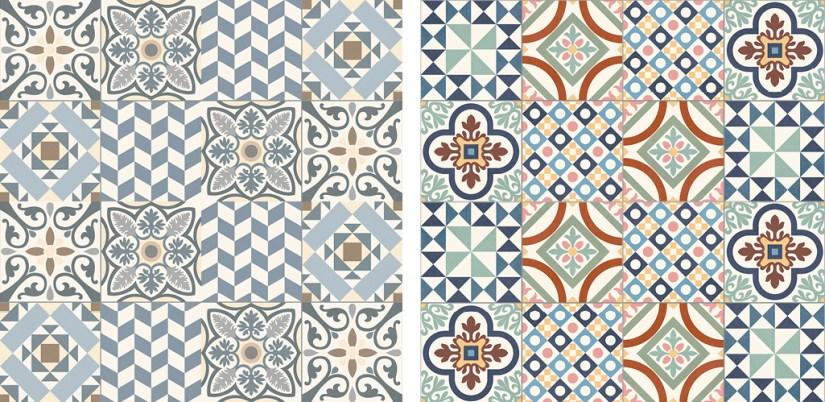 mosaicos hidráulicos, suelo hidráulico