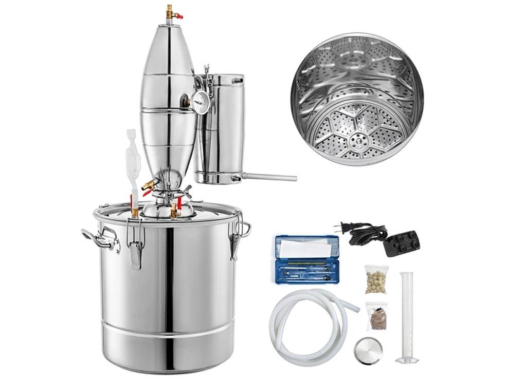 Sistema de destilación del agua