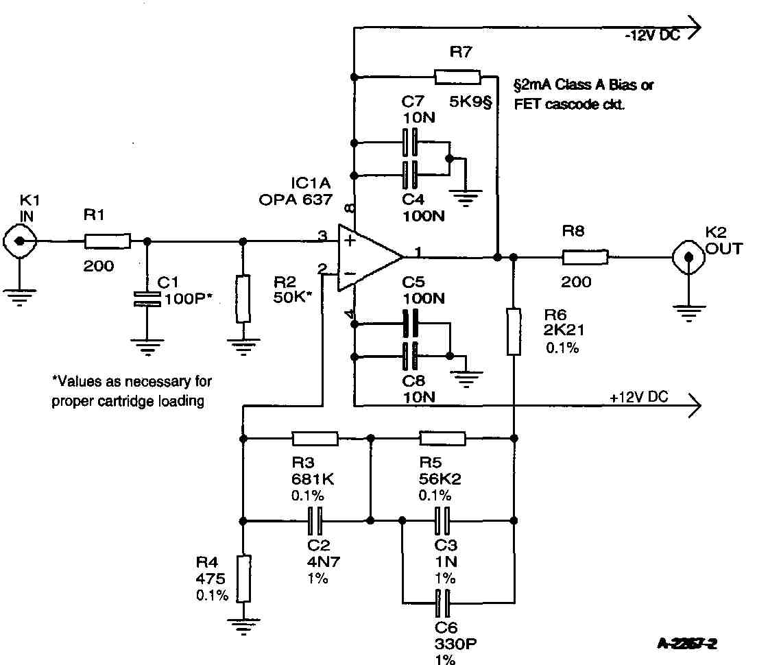 A Amp Capacitor Wiring