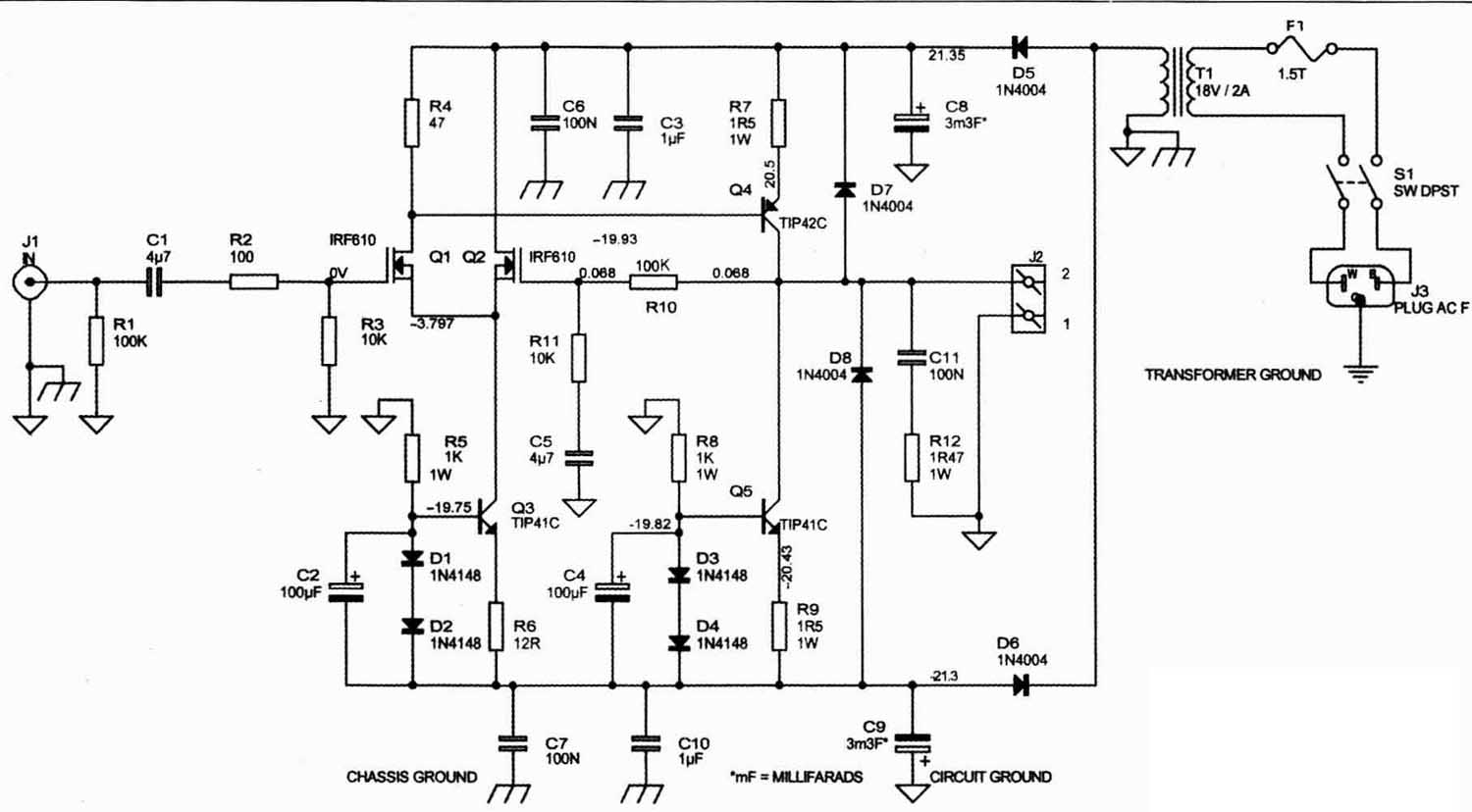 A Solid State Single Ended Power Amp
