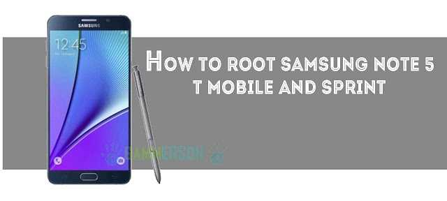 how-to-root-samsung-note-5-steps