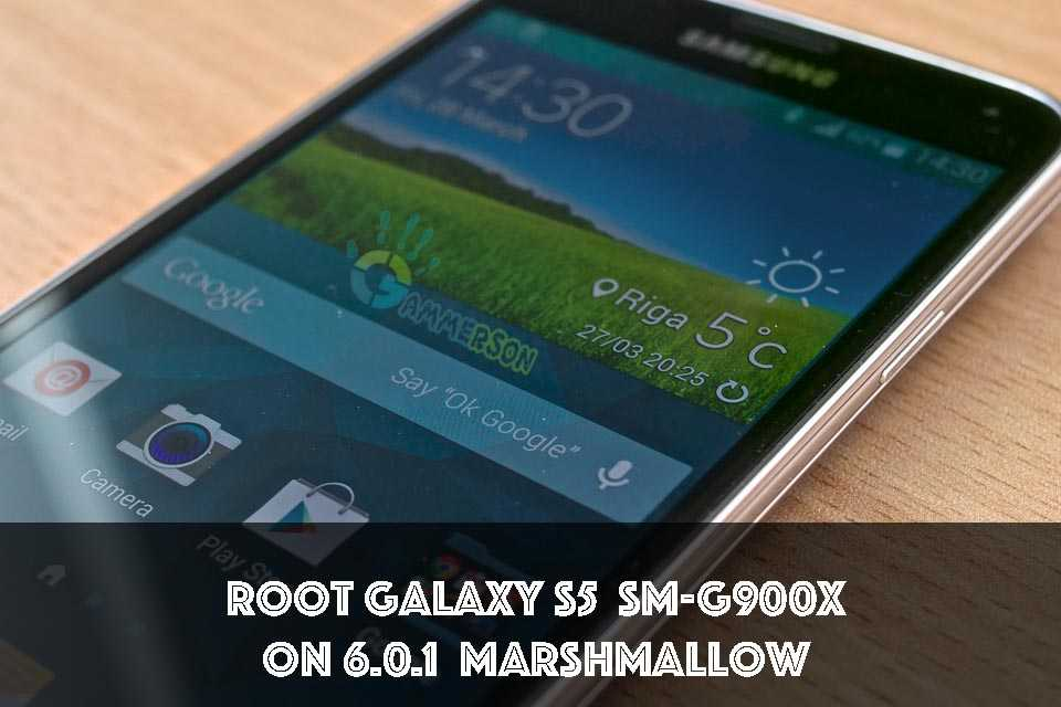 Root Galaxy S5 (SM-G900X) on 6.0.1 Marshmallow