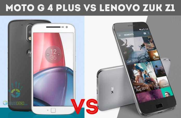 Moto G 4 plus vs Lenovo Zuk Z1