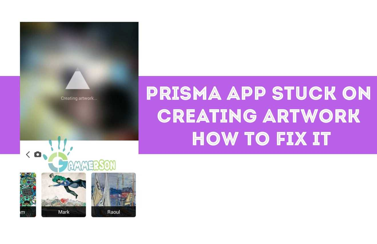 prisma stuck on creating artwork.png