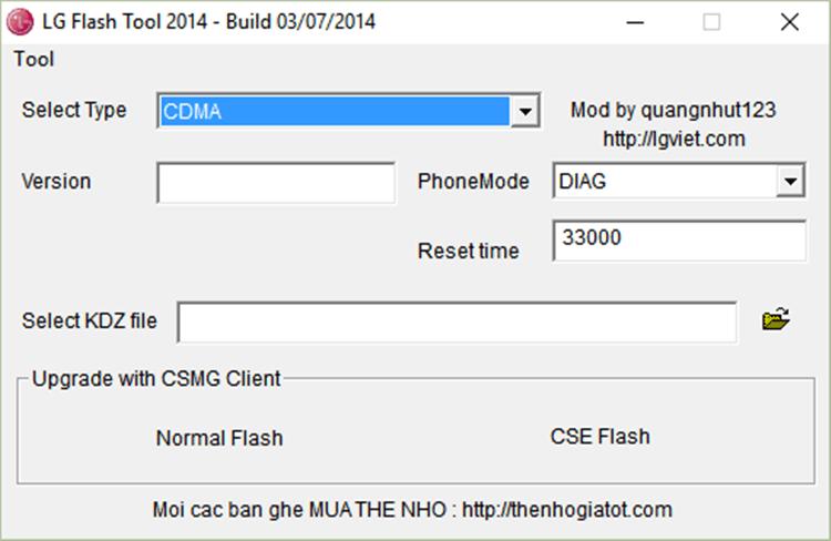 How To Flash KDZ Firmware on Any LG Device via LG Flashtool