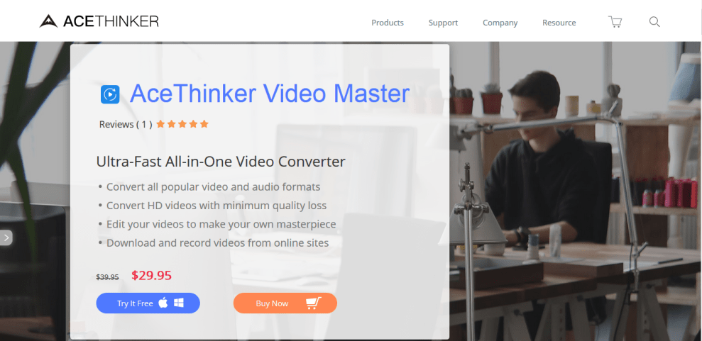 AceThinker Video Master All-in-One Video Converter