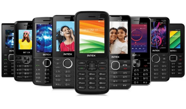 Intex 4G VoLTE Feature Phone