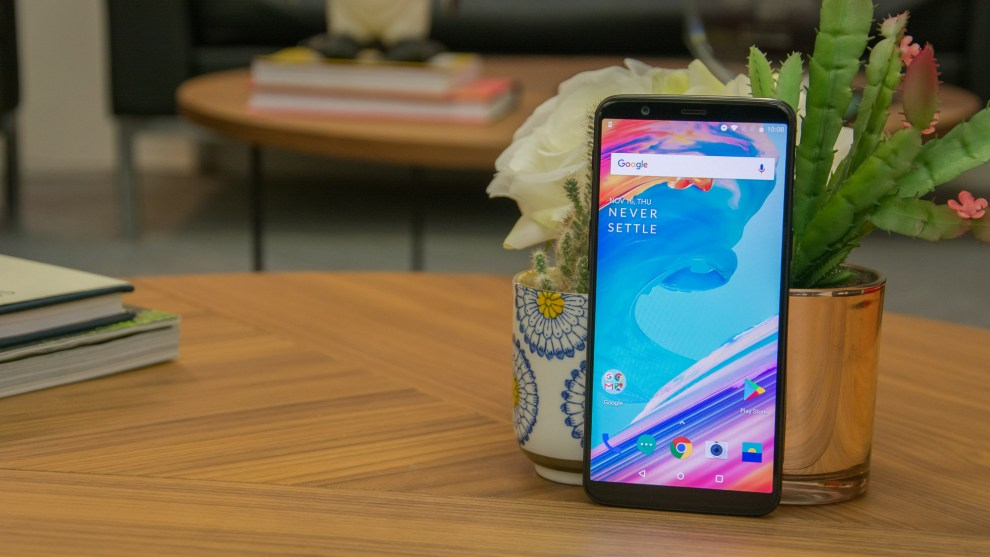 OnePlus Smartphones Updating to Android P