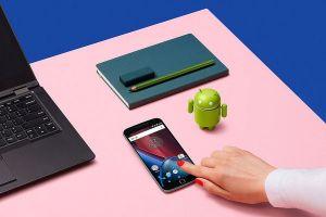 Motorola Smartphones Updating To Android P