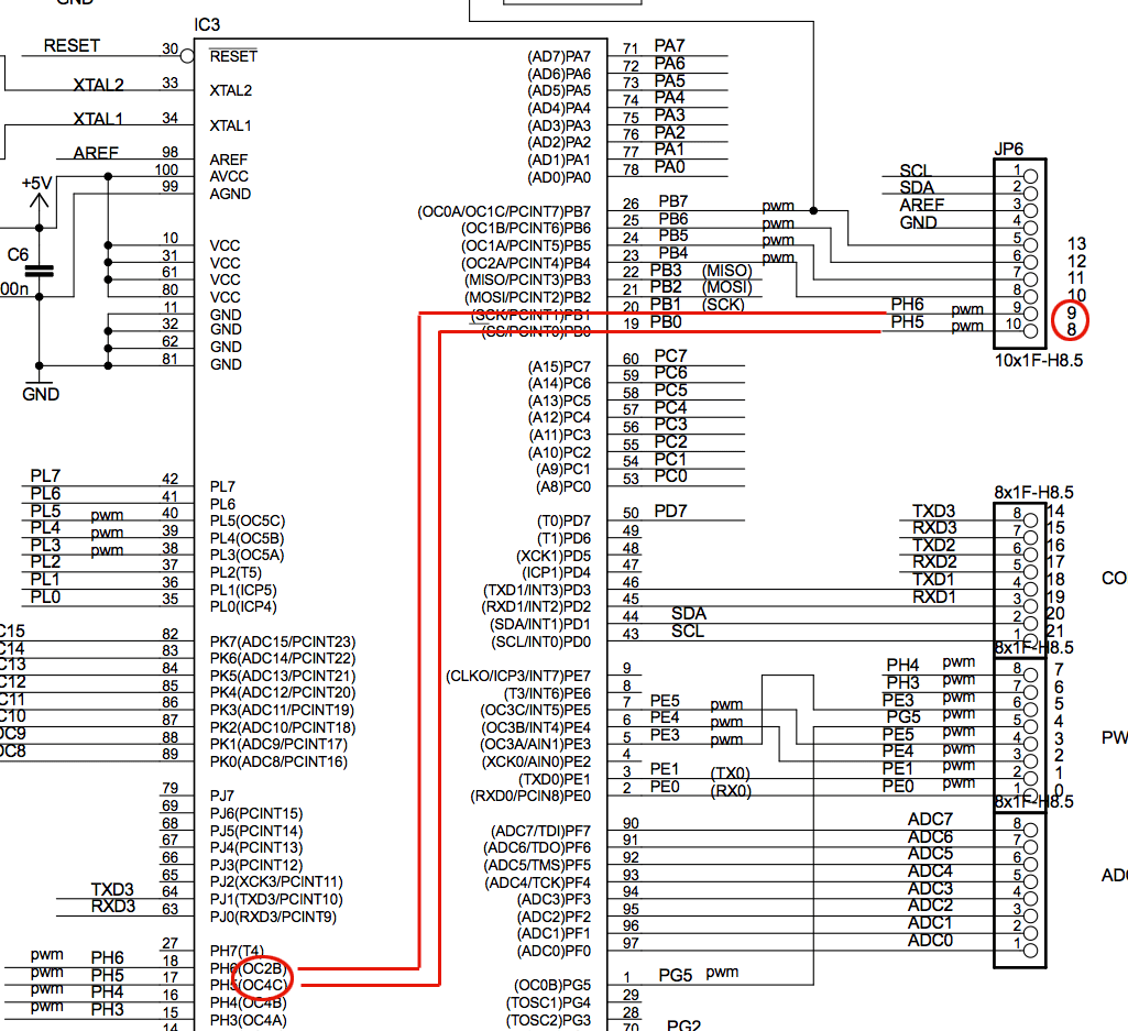Changing The Pwm Frequency To 20khz On A Mega