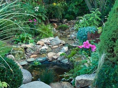 creer un ruisseau dans son jardin
