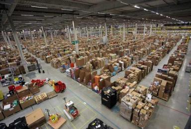 Un magazzino Amazon