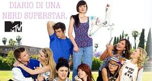 Poster promozionale di italiano per Diario di una Nerd Superstar su MTV