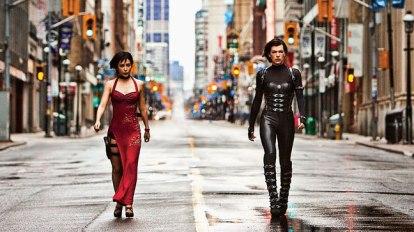Una scena tratta da Resident Evil 5 - Retribution
