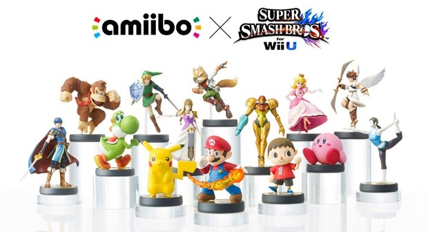 Personaggi Amiibo